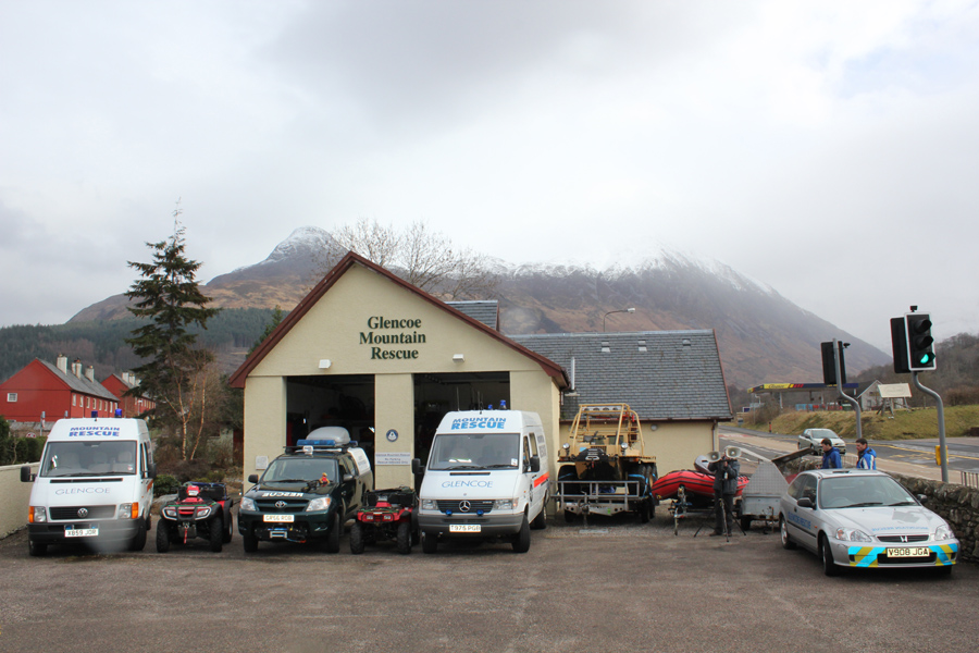 Glencoe Mountain Rescue Centre, Glencoe village