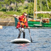 Getting to grips with Stand Up Paddling