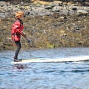 Paddleboard tricks