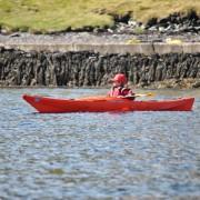 Sam and his sea kayak