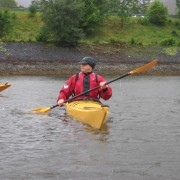 Sea Kayaking in the rain