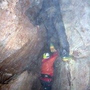 Caving exercise