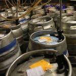 beer cellar kegs