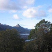 Take a moment to catch a breath and enjoy the view back over Loch Leven to the Pap of Glencoe.