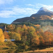 The Pap of Glencoe and Glencoe House