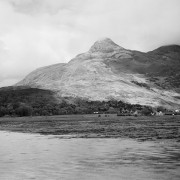 Glencoe village from Tighphuirt