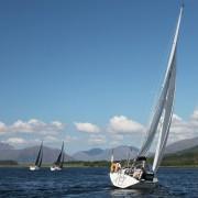 Glencoe Sailing Club Regatta 1