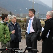 Secretary of State for Scotland visiting Glencoe