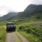 Land Rover Safari in Glencoe NTS