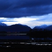 evening over Ardgour