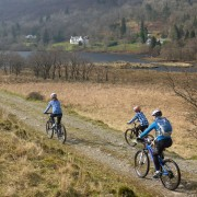 Biking in Glen Creran