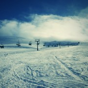 Perfect snow conditions at Nevis Range