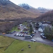 Clachaig from the air