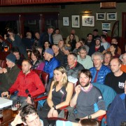The audience - wish we had a bigger room!