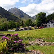 Clachaig in the May sunshine