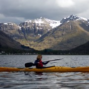 Kayaking on Loch Leven