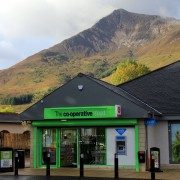Ballachulish co-op and mountain