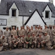 Marines come to Clachaig