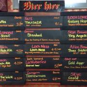 Octoberfest beer boards