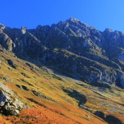 Autumn colours on the Aonach Eagach