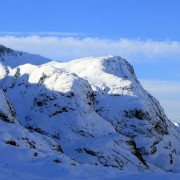 The 3 Sisters, Glencoe - in winter