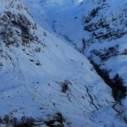 The classic view to Stob Coire nan Lochan, Glencoe
