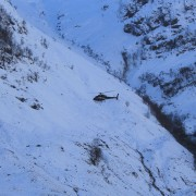 A fine day for a deer count - by helicopter, in Glencoe