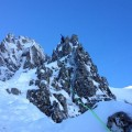 Andy Spink on Dorsal Arete