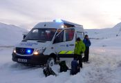 Glencoe Montain Rescue Truck - Lairig car park