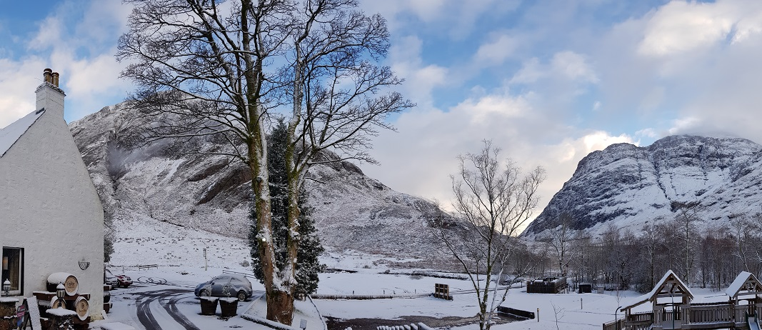 Winter at Clachaig